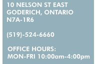 10 Nelson St East Goderich Ontario